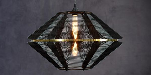 Draadlamp groot